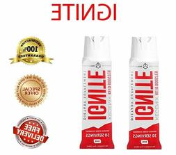 2 PACK of Ignite Keto Pre Workout Spray BHB Supplement Weigh