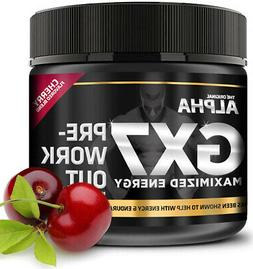 Alpha Gx7 Pre-workout - Maximized Energy - For Workouts 265g