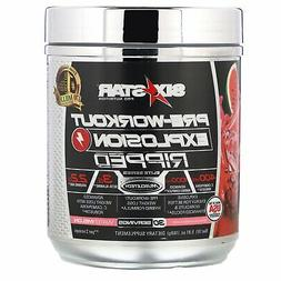 Six Star Explosion Pre Workout Thermogenic Preworkout Energy