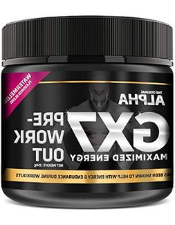 Alpha Gx7 Pre Workout Powder - Energy Drink for Workouts 245