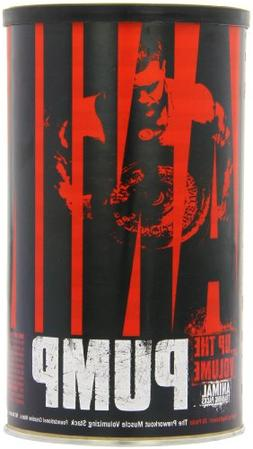 Universal Nutrition Animal Pump Pre-Workout, Nitric Oxide, C