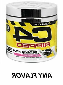 Cellucor C4 Ripped Pre-Workout **FRUITY RAINBOW** 34 oz 180