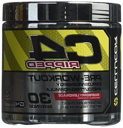 Cellucor C4 Ripped Pre-Workout Supplement, Raspberry Lemonad