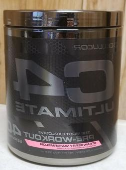 Cellucor C4 Ultimate Most Explosive Pre-Workout 40 srv Straw