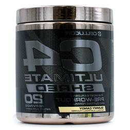 Cellucor C4 Ultimate Shred  Pre-Workout Build Muscle Energy