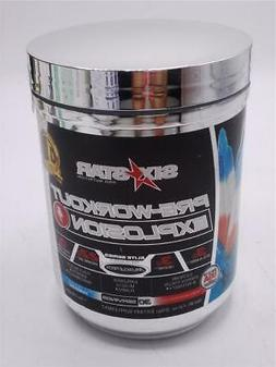 Six Star Explosion Pre Workout, 7.41 Ounce Icy Rocket Freeze