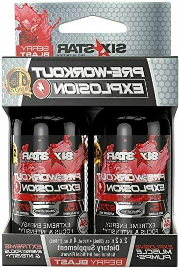 3 pre workout explosion 2 pack of