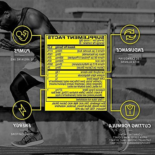 Cellucor C4 Ripped Workout For Men with Extract, Limeade, 30 Servings