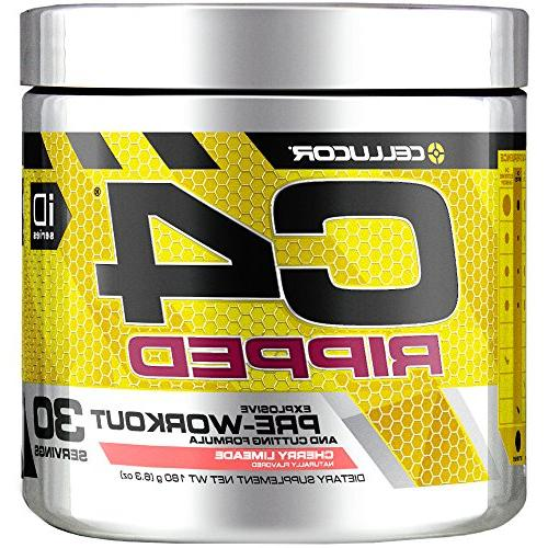 c4 ripped preworkout thermogenic fat