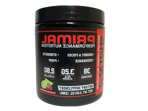 prime pre workout energy cherry supplement 30
