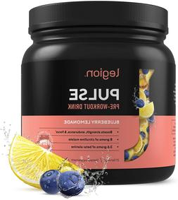 Legion Pulse Pre Workout Supplement - All Natural Nitric Oxi