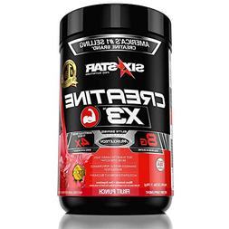 Six Star Pro Nutrition Creatine X3 Powder, Max-Dosed Creatin
