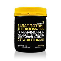 DEDICATED NUTRITION UNSTOPPABLE Pre-Workout - Energy - Focus
