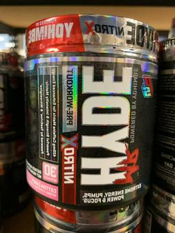 Pro Supps Mr. Hyde Nitro X -Pre Workout Cotton Candy Fast Fr