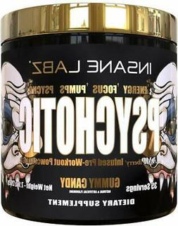 psychotic gold strongest pre workout 35 servings