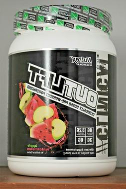 Nutrex Research Outlift Pre-Workout 17.8 oz Out Lift 17.5 17