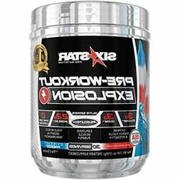 Six Star Explosion Pre Workout, Powerful Powder With Extreme