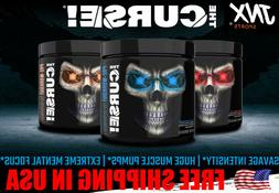 THE CURSE Pre Workout ENERGY by JNX Sports  50 Servings,FREE