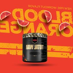 Redcon1 TOTAL WAR Pre-Workout 30 Servings - Blood Orange